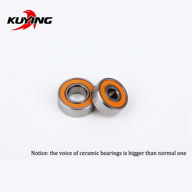 KUYING Original Thunder Reel Coil Wheel Ceramic Bearings Spare Parts(1 pair = 2 pieces)