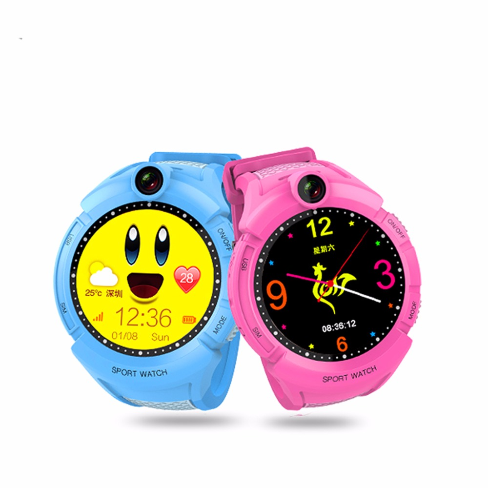 1PCS 2017 New GPS tracking Watch for Kids Q610S baby watch LBS GPS Locator Tracker Anti-Lost monitor SOS Call Smartwatch Child lestopon smart watch kids baby watch monitor smartwatch gps wifi sos locator trackey anti lost safe support sim card for phone