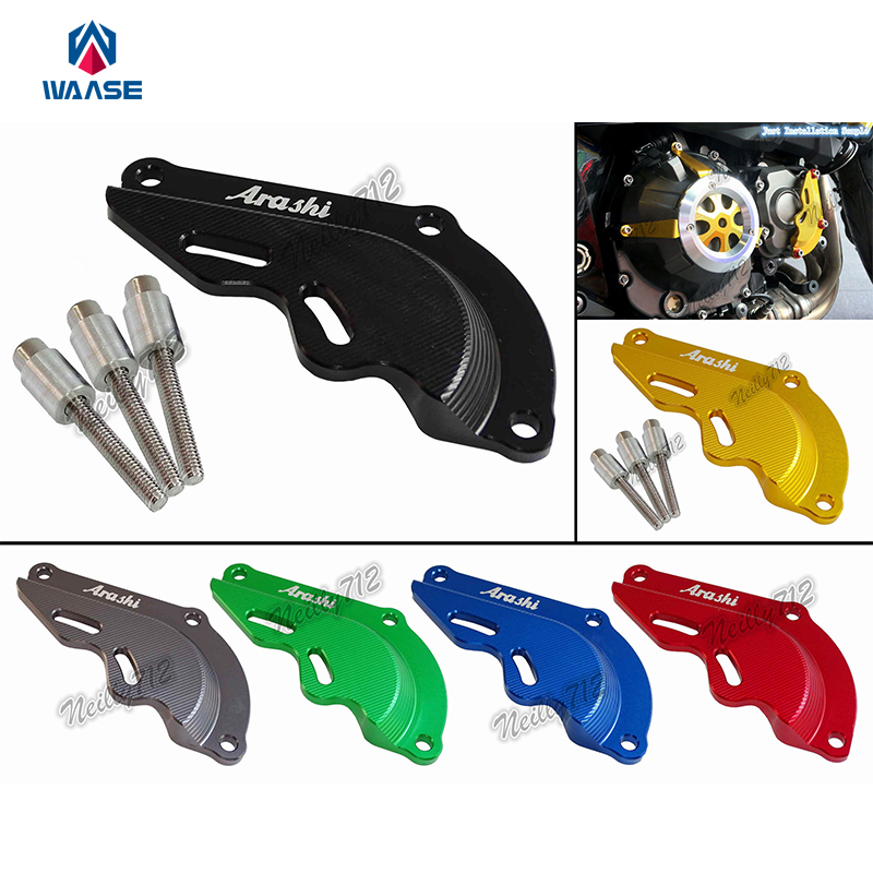 CNC Aluminium Righthand Engine Pulse Ignition Case Guard Protectiver Cover For Kawasaki Z800 2013 2014 2015 2016 waase engine case guard cover clutch cover ignition cover set crash protection for kawasaki z1000sx 2011 2012 2013 2014 2017
