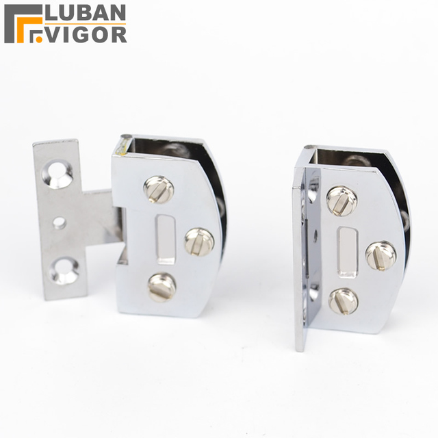 Perfect Zinc Alloy, Cabinet Glass Door Hinge/glass Clamp/clips,for 5mm