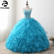 FOLOBE Sweetheart Ball Gown Prom Dresses Party Gowns