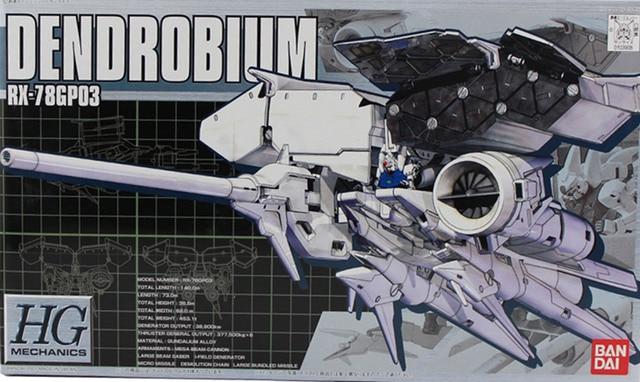Bandai gundam hgm 01 1/550 RX 78GP03D gp03 dendrobium terno móvel montar modelo kits figuras de ação brinquedos das crianças