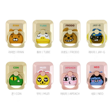 SHINEHENG Ryan Cartoon Action Figure Toy Cute Ring Puppets Lovely Design Anti fall Ring Stiker