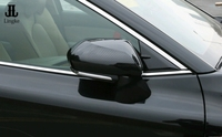 Carbon Fiber ABS Side Door Rearview Mirror Cover Trim For TOYOTA CAMRY 2018