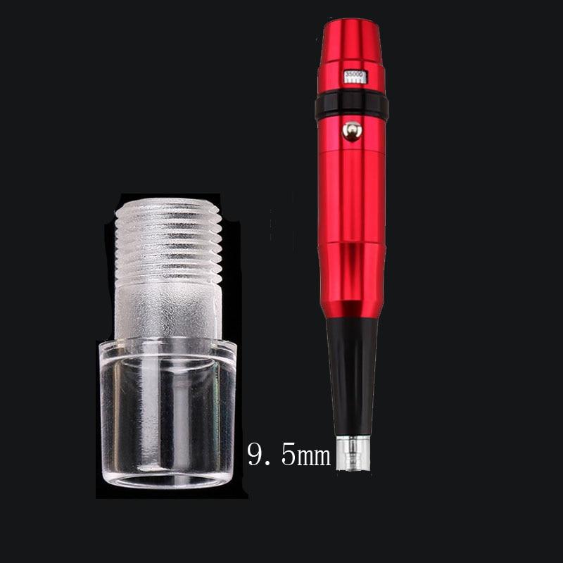 9/9.2mm/9.5mm Crystal Head For Permanent Makeup Machine Pen Plastic Plastic Machine Pen Nozzle Tip Shell Size