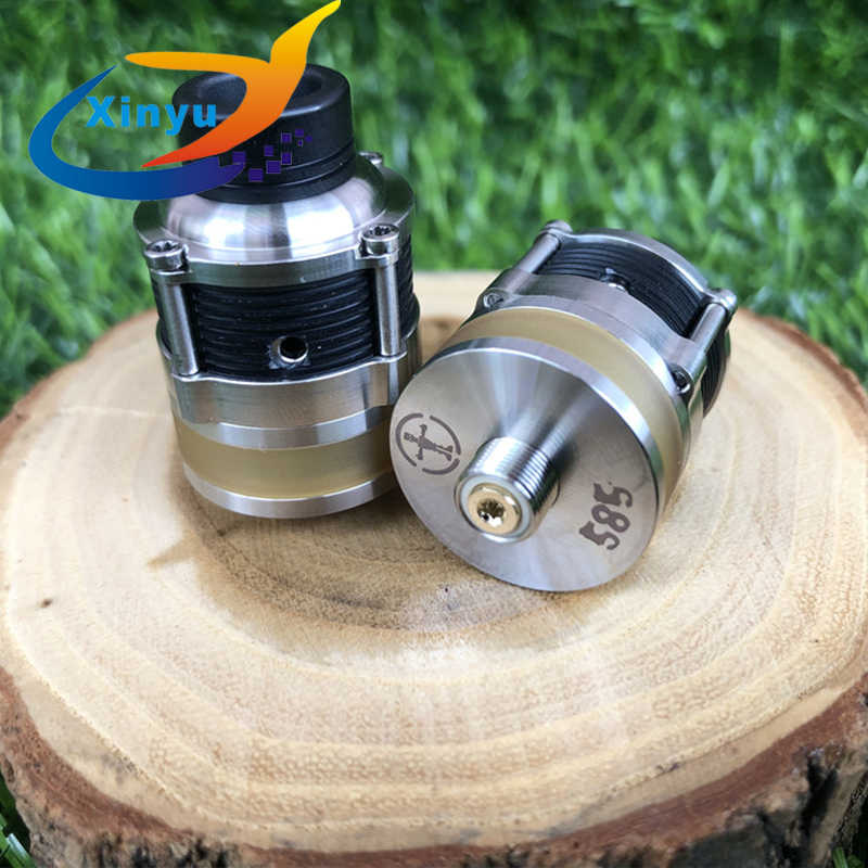 2019 SXK newest Pyrogeyser RDTA Frankenskull Adjustable  intake 22mm tank 316 stainless steel e-cigarette Atomizer
