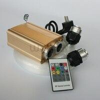 32W Led Lichtbron Met 1000 Strengen 0.75 Mm 2Meter Sparkle Fiber Optic Licht Kits Voor Diy Verlichting