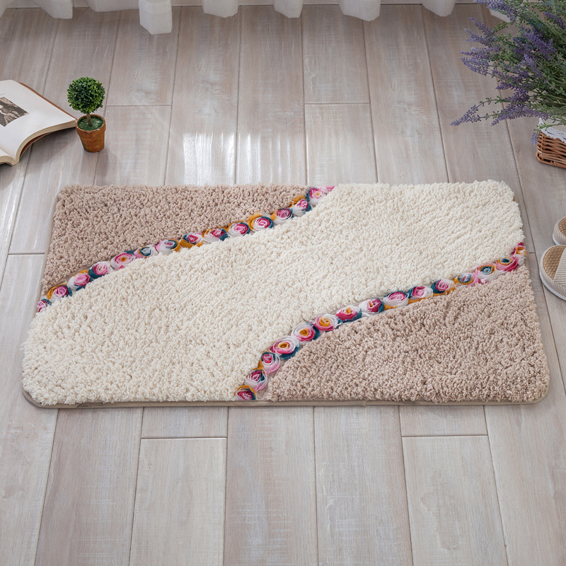 Home Textile The Cheapest Price Blue Mediterranean Style 3d Carpets For Living Room Bedroom Carpet Coffee Table Sofa Bed Antiskid Floor Mat Custom Washable Rugs To Ensure Smooth Transmission
