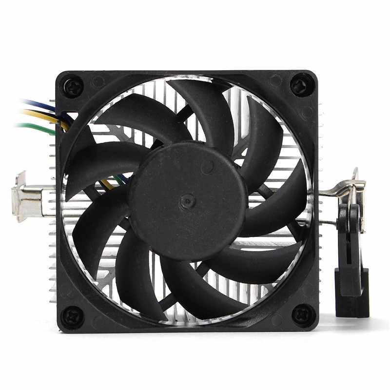 1 шт. Новый Кулер Для процессора охлаждающий вентилятор и радиатор для AMD Socket AM2/3 1A02C3W00 9 листьев 4 контакта до 95 Вт вентилятор радиатора