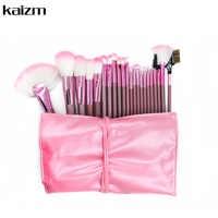 22PCS Mode Stil Make-Up Pinsel Set Powder Foundation Soft Pro Kosmetische Werkzeug Kit Sammlung Mit Fall Rosa Machen- up Pinsel