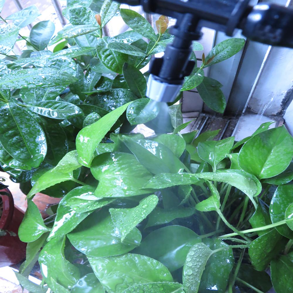 HTB1wxvyTkvoK1RjSZFDq6xY3pXaw - Water Misting Cooling System Kit summer Sprinkler brass Nozzle Outdoor Garden