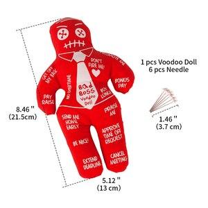 Image 2 - Кукла Mealivos Bad Boss Voodoo, кукла редуктор для снятия стресса, лучший подарок для обмена розовым слоном