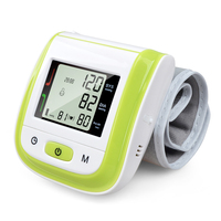 2016 New Automatic Digital Wrist Blood Pressure Monitor Meter Cuff Blood Pressure Measurement Health Monitor Sphygmomanometer