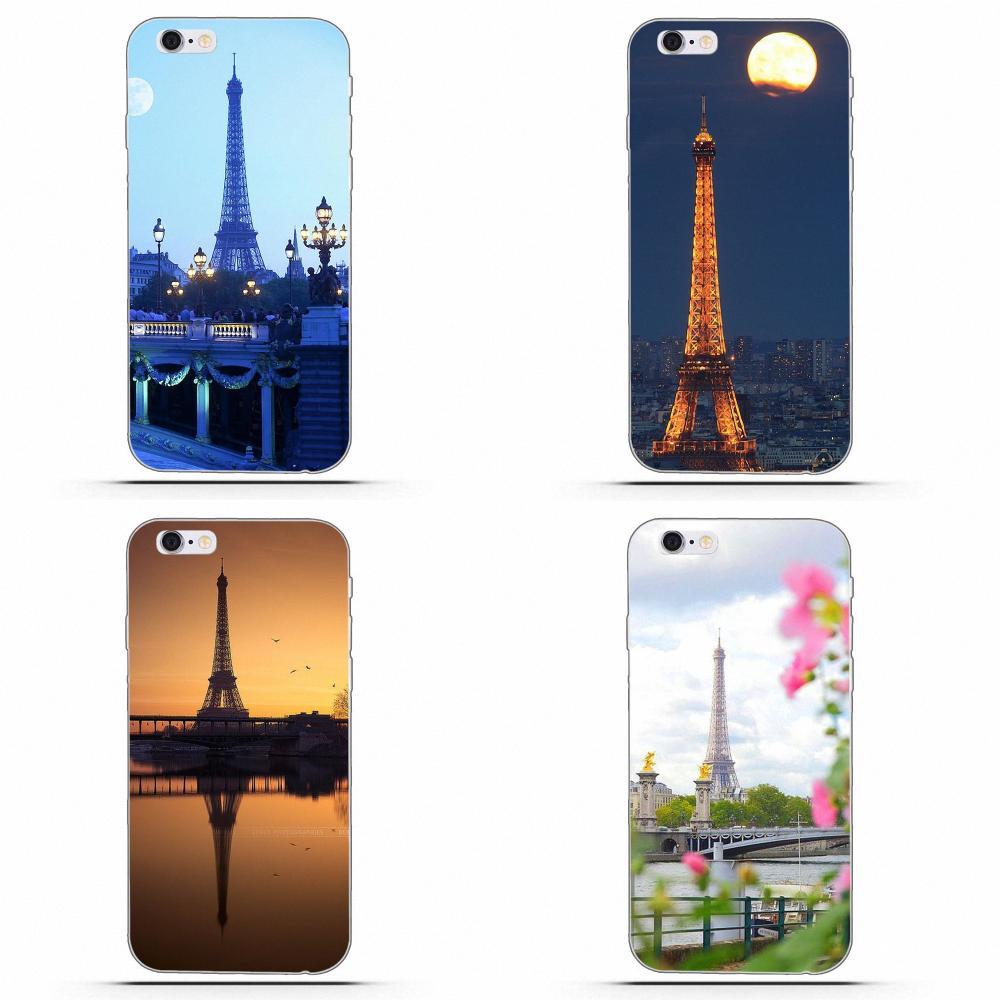 100% Waar Wexoeq Soft Phone Cases Cover Voor Apple Iphone 4 4 S 5 5c 5 S Se 6 6 S 7 8 Plus X Eiffiel Handdoek