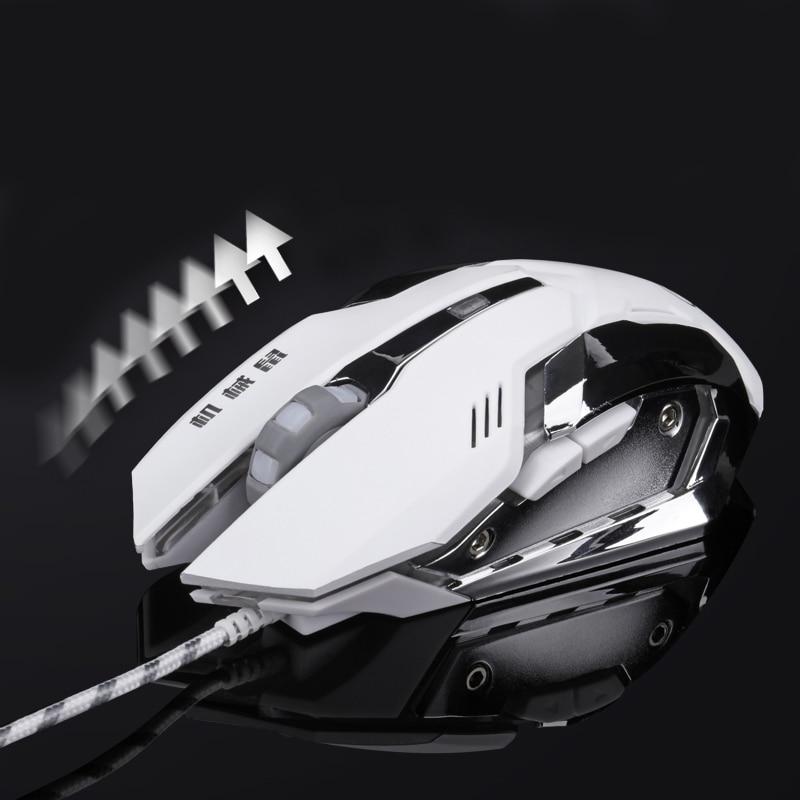 Wired Gaming mause Mouse DPI Regolabile LED Cavo USB Optical Mouse per Pro Gamer League Of Legend/Dota2 spedizione Gratuita
