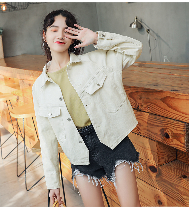 c383437d952 Detail Feedback Questions about 2019 Women s Yellow Denim Jackets ...