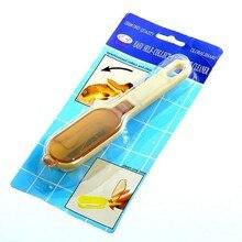 1 шт. без коробки прочное пластиковое приспособление для снятия чешуи скребок для чистки Peelers инструменты для приготовления пищи кухонный помощник для очистки рыбьей кожи F2241