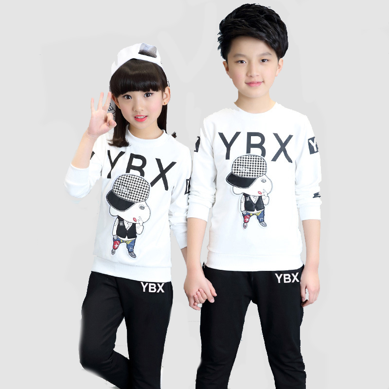 Children Clothing Sets For Girls Sports Suits 6 Cartoon Letter Boys Tracksuits 8 Spring Long Sleeve Kids Sports Wear 10 12 14Y весна милана 5 со звуком в2203 о