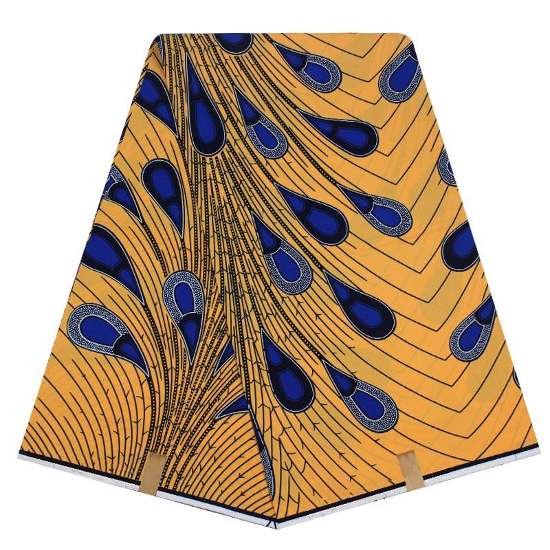Fashion Design 100% cotton Fabric african Java wax fabric high quality real dutch wax prints hollandais for sewing dress