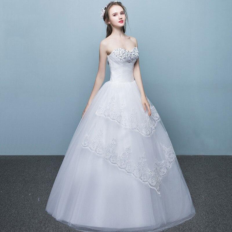 LAMYA Fashinable Sweetheart Wedding Dress Princess Plus Size Bridal ...