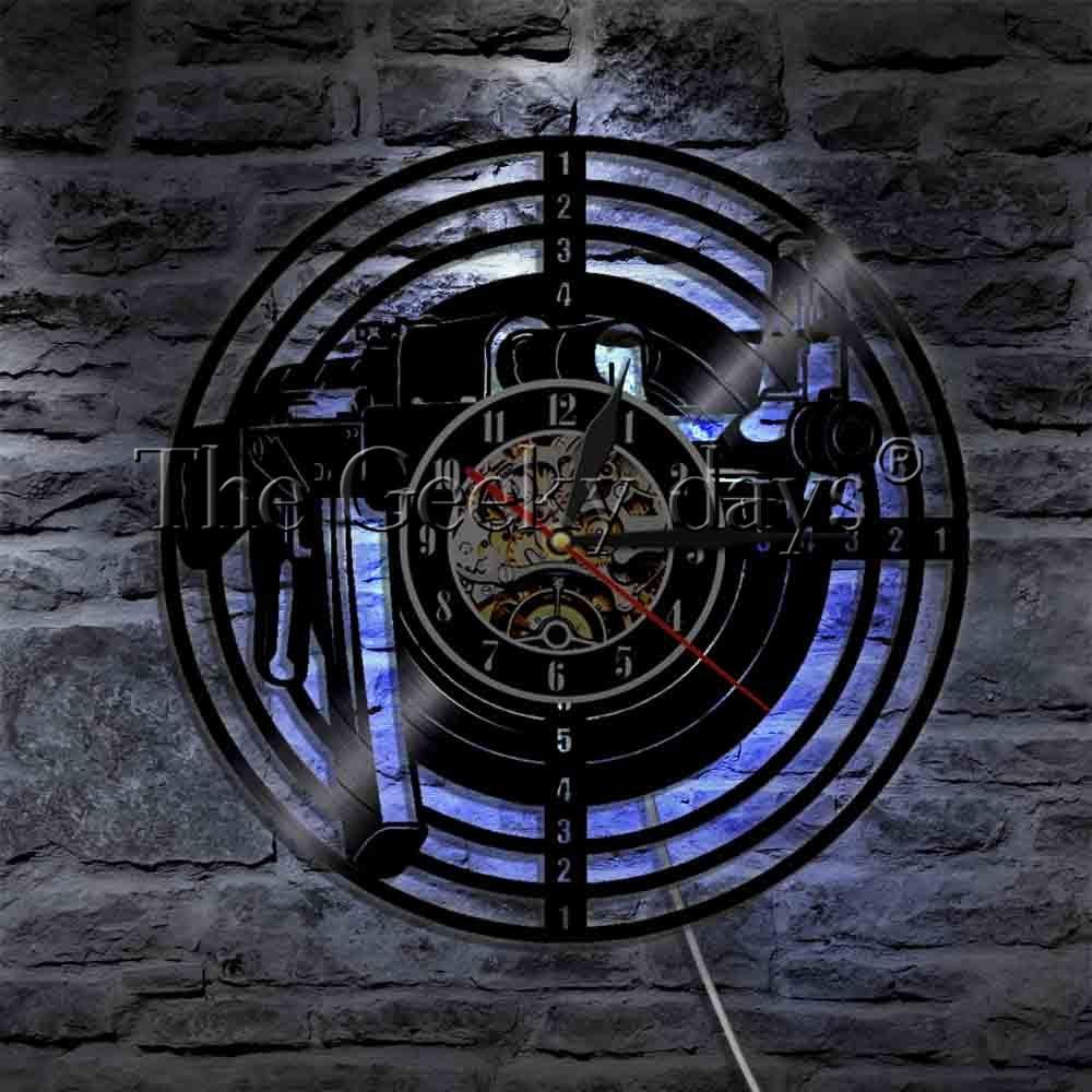 1Piece Shooting Gun Wall Lamp Shooting Target LED Lighting