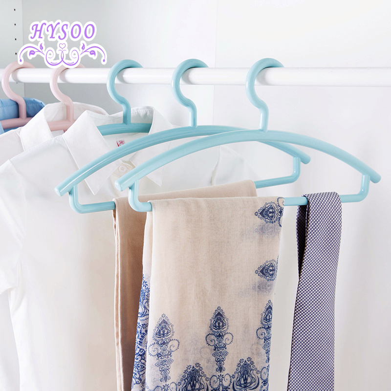Plastic drying racks wet and dry clothes racks, home baby hangers clothes hanging HYSOO