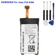 SAMSUNG Original Battery EB-BR360ABE For Samsung Gear Fit2 Fit 2 R360 SM-R360 SCH-R360 C200mAh Replacement