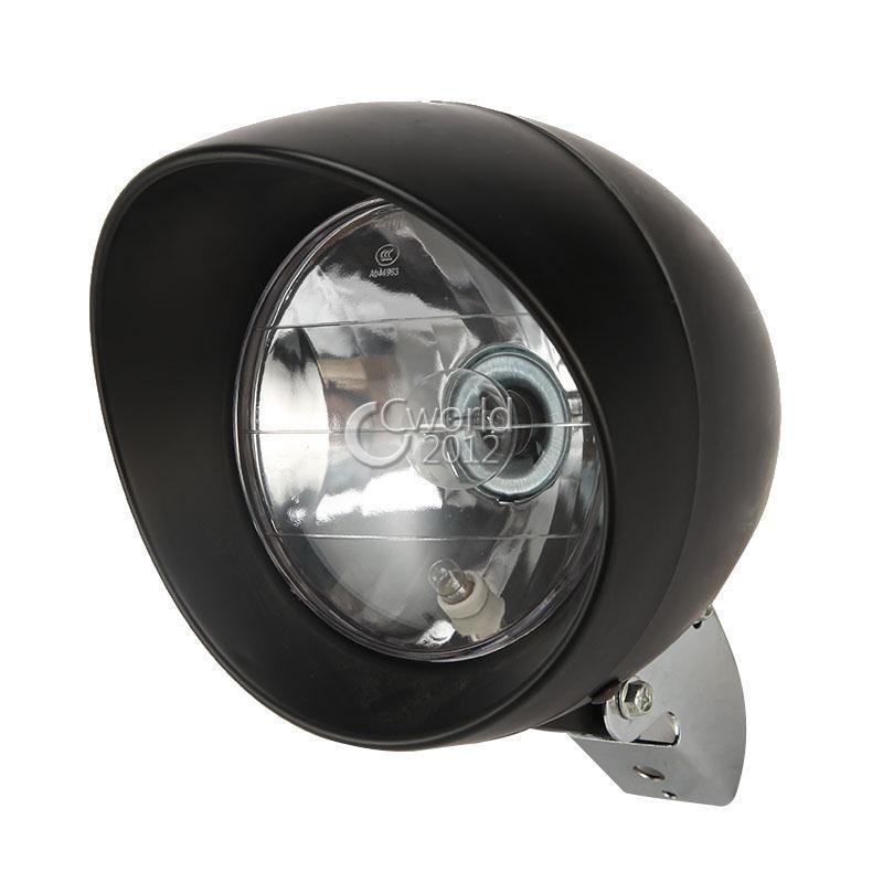 Motocyklový reflektor světlomet 7inch Skříň bobber světlometu univerzální vlastní lampa