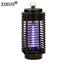 Led Electric Mosquito Killer Trap Moth Fly Wasp Night Lamp EU/US Plug 110-220V Bug Insect Light Black Killing Pest Zapper цены онлайн