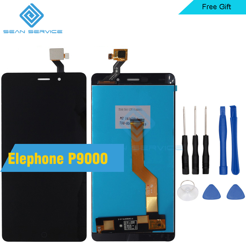 "imágenes para Para Elephone P9000/P9000 Lite Pantalla LCD Original y TP Pantalla Táctil Digitalizador Asamblea lcd + Herramientas Para P9000 1920X1080 5.5"""