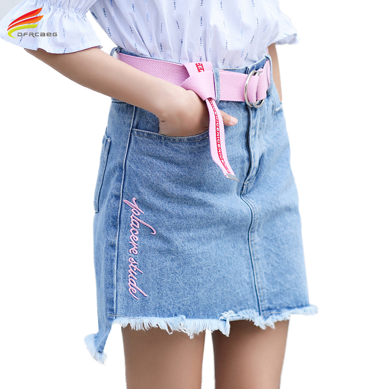 Compare Prices on Colored Jean Skirts- Online Shopping/Buy Low ...
