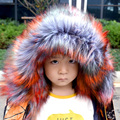 New lady blinger faux fur jacket kids fur parka coat children wind coat fake raccoon fur jacket