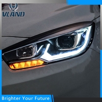 LED Head Light Front Lamp For VW VOLKSWAGEN Golf 7 2014 2016 Projection Xenon HID Headlight