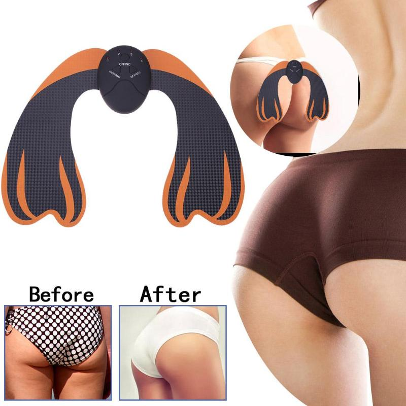 EMS Hip Trainer Muscle Stimulator Buttocks Lifting Waist Slimming Muscle Massager Intelligent Buttock Tighter Massager Unisex