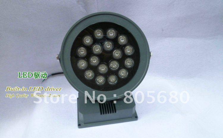 18 Вт Светодиодный прожектор AC85-265V Ландшафтное освещение напольный светильник 1500lm ...