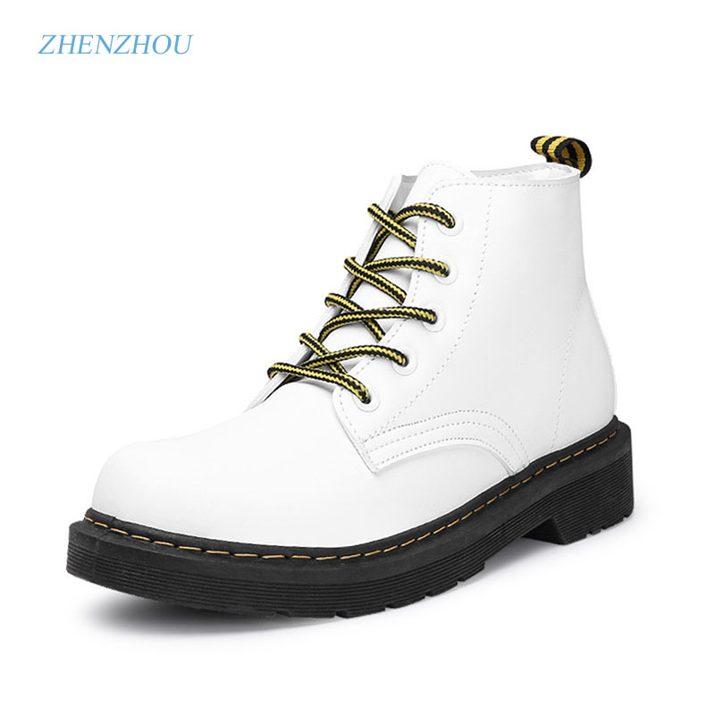 Free shipping Zhen zhou 2017 vintage Martin boots of the British vintage Martin boots, short boot and motorcycle boots short boots woman the fall of 2017 a new restoring ancient ways british wind thick boots bottom students with martin boots