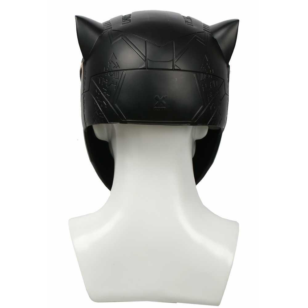Coslive обновленное видение Черная пантера шлем супергерой кино шлем для косплея костюм реквизит для Хэллоуина Косплей шоу для взрослых