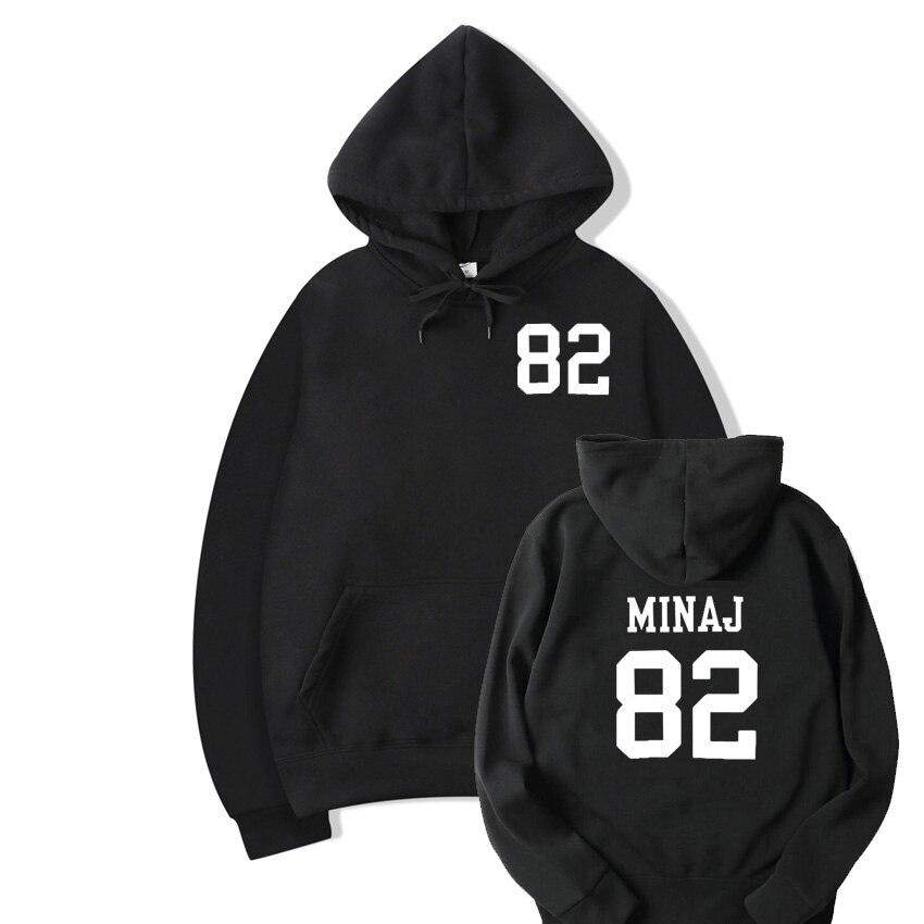 Nicki Minaj Pretty On Fleek Printed Sweatshirt Women Casual Crewnck Hoodies Jumper Pullover Harajuku Outfit Camisetas Mujer