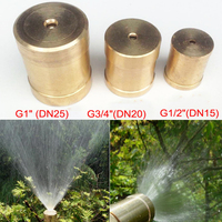 NuoNuoWell G1 2 G3 4 G1 Copper Spray Nozzle Lawn Garden Sprinkler Agricultural Statue Cooling Mist