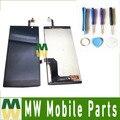 1 pc/lote alta qualidade display lcd + touch screen digitador assembléia com ferramentas para acer liquid z500 black cor