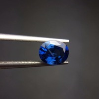 On Sale cqt certification 1.21ct Natural No Indication UnHeated Blue Sapphire Stone Loose Gemstones