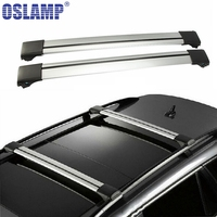 1 Pcs 93 99cm Roof Rack Universal Aluminum Adjustable Roof Rack Cross Bar For Honda Toyota