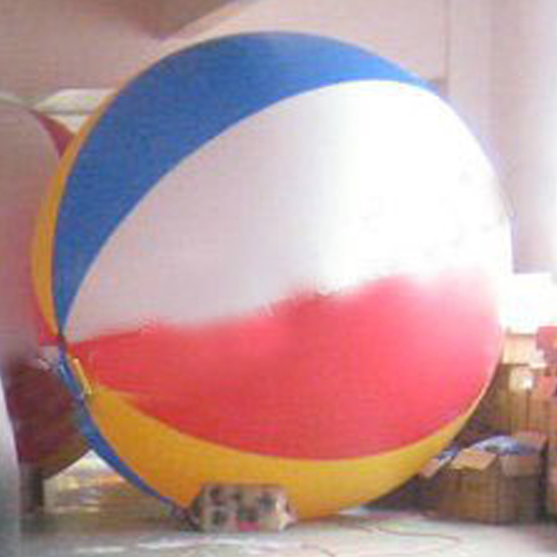 6.5ft=2m Diameter Inflatable Beach Ball Helium Balloon for Advertisement in Colorful 2m by 2m inflatable square advertising helium balloon