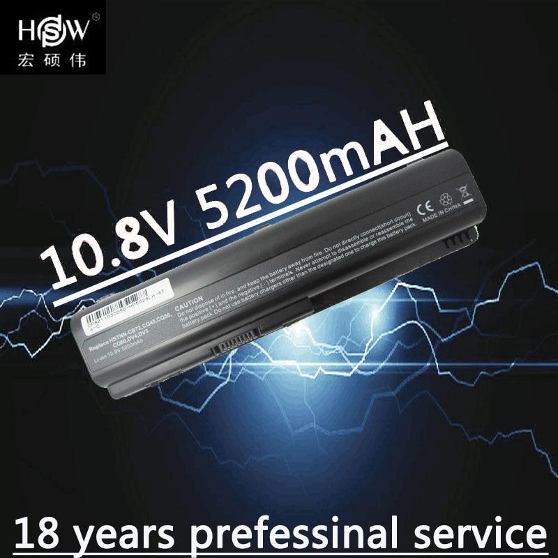 HSW Battery for Compaq Presario CQ50 CQ71 CQ70 CQ61 CQ60 CQ45 CQ41 CQ40 For HP Pavilion DV4 DV5 DV6 DV6T G50 G61 batteria akku lidy pa 1650 02hc 65w 3 5a ac power adapter for hp compaq cq35 cq40 cq45 7 4 x 5 0mm