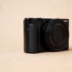 Image 5 - Non slip Attachment Grip Holder for Sony RX100 RX100II RX100III M4 M5 RX100M6 Rubbery Grip 3M Sticker Bag Camera Accessories