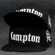 west beach gangsta city crip N.W.A Eazy-E compton skateboard cap snapback hat hiphop fashion baseball caps Adjust flat-brim cap