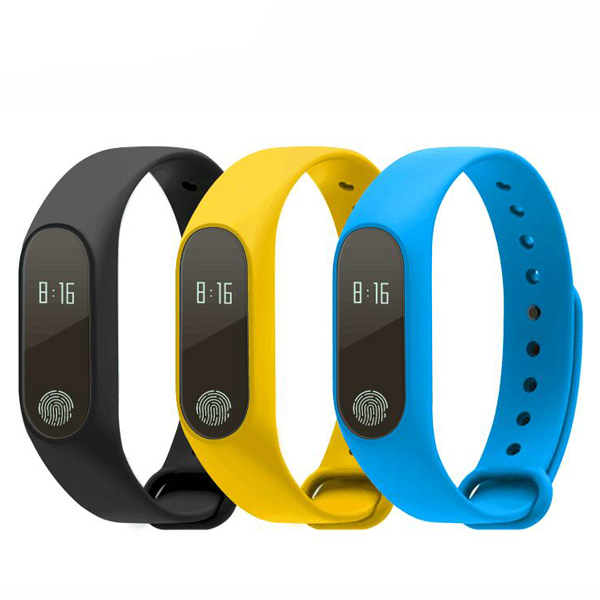 New Bluetooth Smart Band M2 Heart Rate Monitor Waterproof IP67 Message Call Reminder Wristband for Android