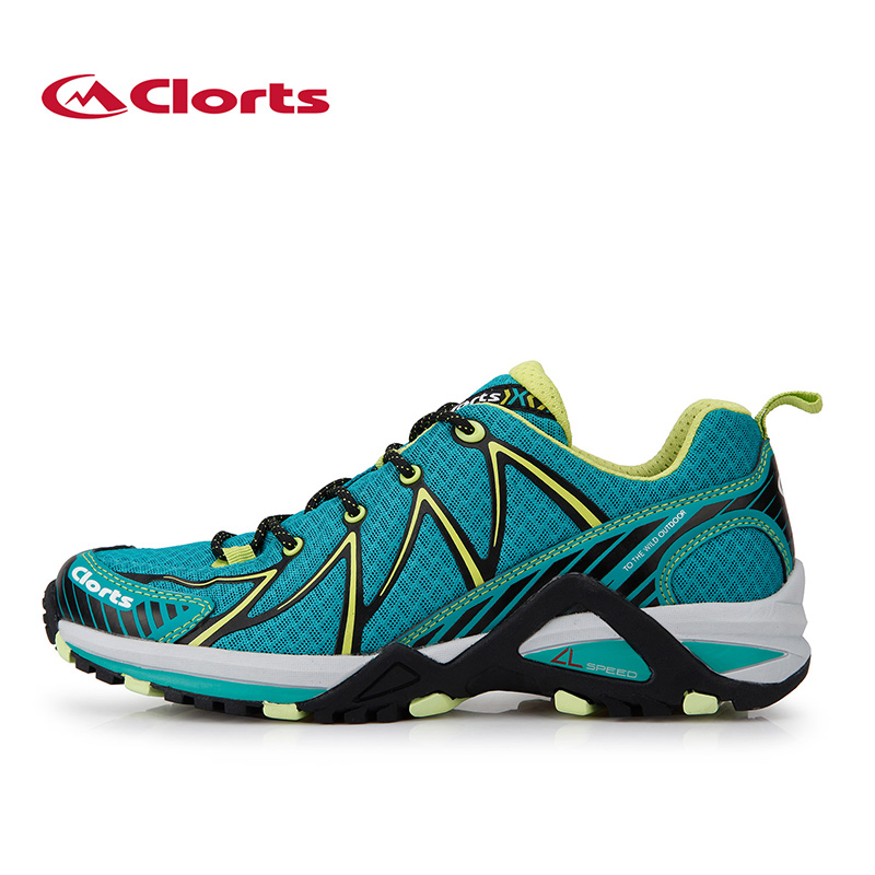 ФОТО Clorts Brand Men Running Shoes Light Trail Sport Shoes Breathable Outdoor Runner Shoes Mesh Running Athletic Shoes 3F016A/B