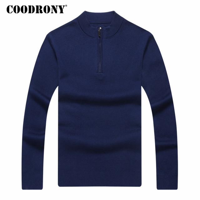 Cashmere Sweater Men Clothes Thick Warm Wool Pullover  4