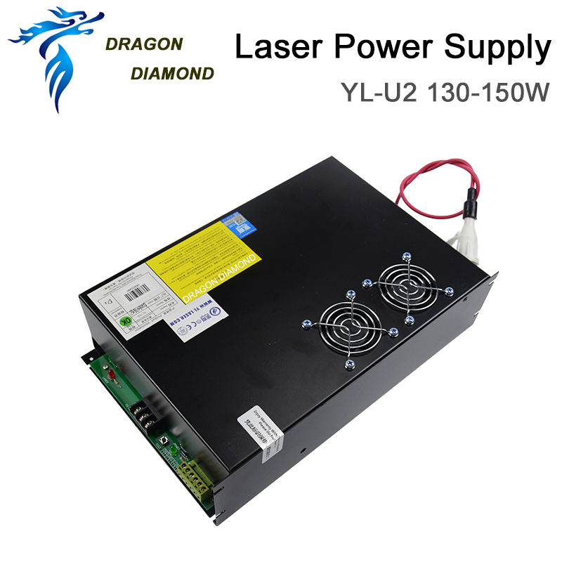 Yongli 150W CO2 Power Supply Laer Tube For CO2 Laser Engraving Cutting Machine